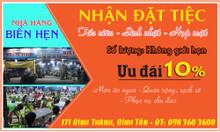 Biển hẹn - quán hải sản ngon Bình Tân - Nhận đặt tiệc tấc niên