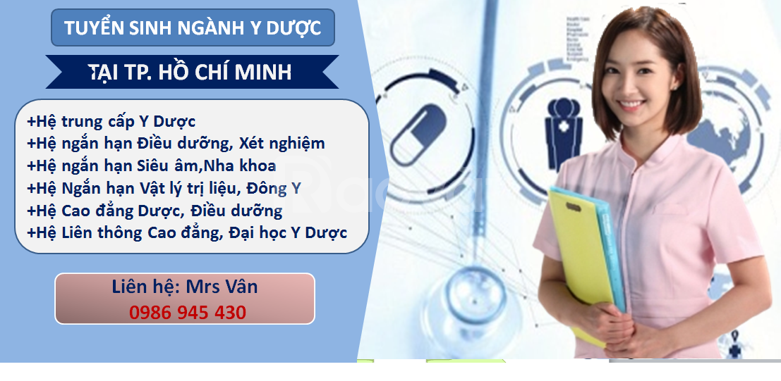 Học y sĩ, dược sĩ, điều dưỡng tại TPHCM