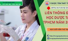 Đăng ký học liên thông Đại học Dược 2018 tại TPHCM