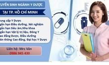 Liên thông cao đẳng dược, điều dưỡng khu vực TPHCM