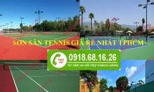 Nơi bán sơn sân Tennis Terraco loại láng không cát giá rẻ TPHCM