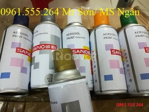 Sơn Sano, sơn Trung Quốc, sơn mạ bạc mạ vàng