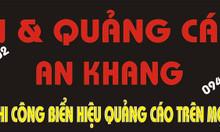 In & quảng cáo An Khang