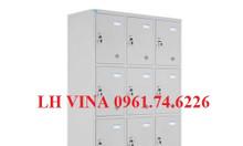 Tủ locker 12 ngăn, tủ sắt đựng đồ nhân viên