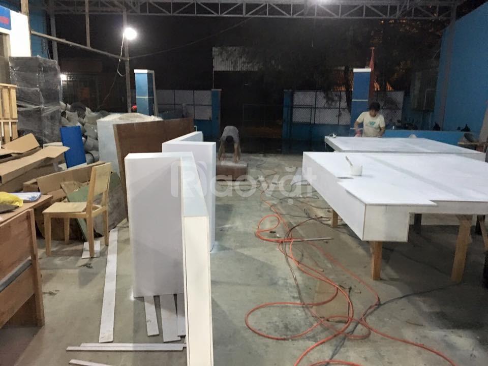 Đóng mới đồ gỗ sửa chữa đồ gỗ sơn PU đồ gỗ Quận Tân Phú