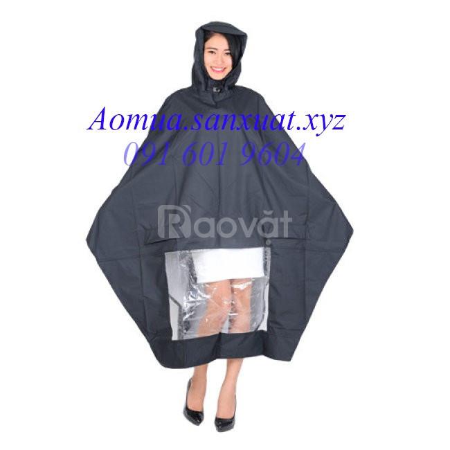 Công ty sản xuất áo mưa cánh dơi vải dù siêu nhẹ