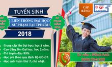 Điều kiện liên thông đại học ngành sư phạm tiểu học 2018