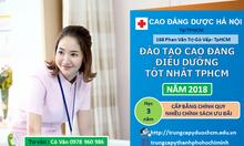 Cao đẳng Điều dưỡng TPHCM 2018 ở đâu tốt