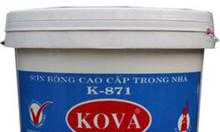 Sơn Kova - Đại lý sơn Kova K-871 sơn nội thất bóng cao cấp 20kg