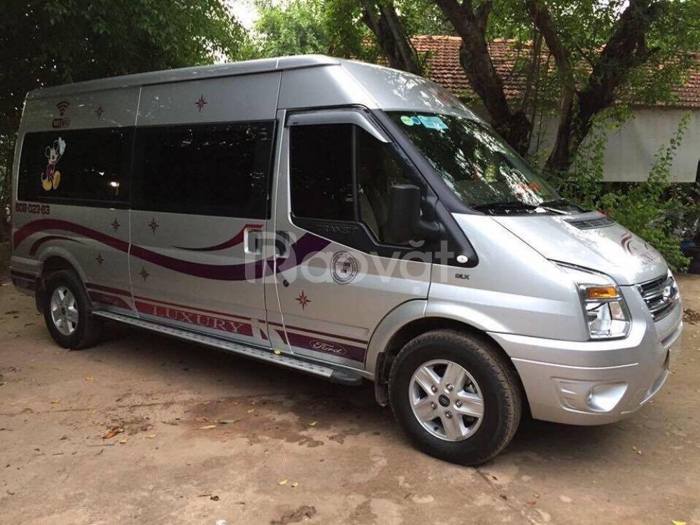 Cho thuê xe du lịch 16 chổ tại quận 9, Thủ Đức, Quận 2 TP Hồ Chí Minh