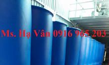 Thùng phuy nhựa đựng hóa chất 220 lít, bán phuy nhựa mới 220 lít