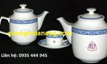Xưởng in logo ấm trà, in logo ấm chén giá rẻ tại Đà Nẵng