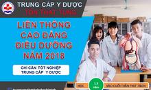 Quy chế tuyển sinh liên thông cao đẳng Điều dưỡng 2018