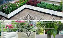 Chậu ghép mô hình trồng rau cây cảnh cho nhà phố