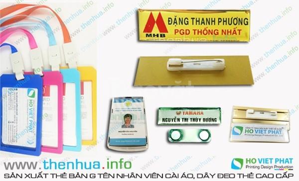 In thẻ nhựa, thẻ vip, thẻ nhân viên giá rẻ, uy tín