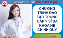 Chương trình đào tạo trung cấp y sĩ đa khoa hệ chính quy