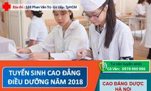 Cao đẳng Điều dưỡng TPHCM 2018 ở đâu tốt?