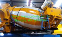 Bồn trộn bê tông nhập khẩu nguyên chiếc, chất lượng vượt trội