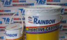 Sơn cho nền bê tông, sơn Epoxy Rainbow 2 thành phần bền cao