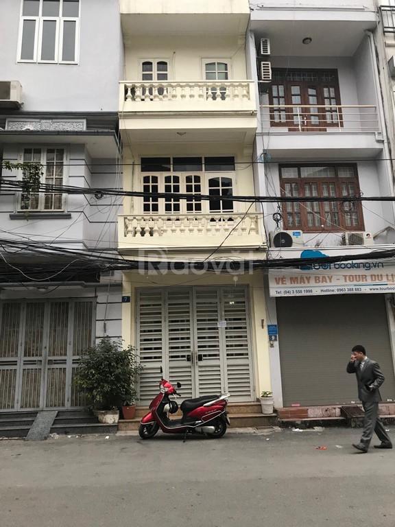 Cho thuê nhà số 7 ngõ 130, phố Đốc Ngữ, mặt bằng: 30m, 4 tầng (ảnh 5)