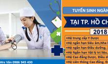 Xét tuyển trung cấp y, dược, văn bằng 2  trung cấp y dược TPHCM