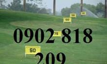 Bảng báo hiệu yard sân tập golf, bảng báo hiệu khoảng cách sân tập golf