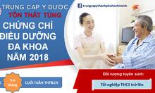 Danh sách các trường đào tạo chứng chỉ điều dưỡng năm 2018