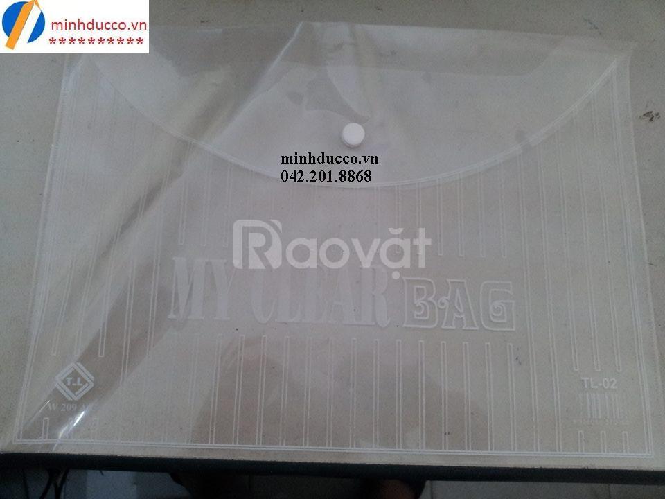 Túi Clear bag (túi nút, túi 1 cúc) giá rẻ chỉ 980đ/chiếc