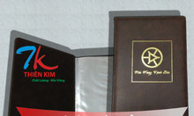 Chuyên sản xuất bìa đựng hồ sơ da, bìa trình ký, sản xuất bìa sơ mi da