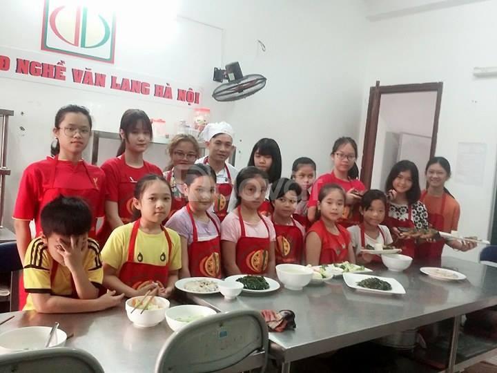 Địa chỉ học nấu ăn trẻ em