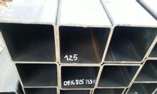 Hộp vuông, thép hộp 125x125, vuông 125x125x5, đen, kẽm 125x125x6