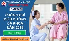 Danh sách các trường đào tạo chứng chỉ điều dưỡng 2018