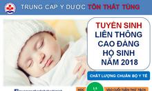Liên thông cao đẳng hộ sinh tại TPHCM uy tín chất lượng