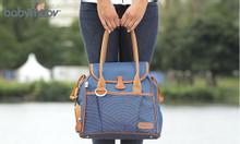 Túi đựng đồ cho mẹ và bé style xanh navy Babymoov