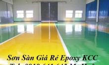 Thi công sơn sàn Epoxy kcc hệ lăn et5660 phủ nền nhà xưởng Tây Ninh