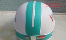 Sản xuất mũ bảo hiểm đạt chất lượng, in logo mũ bảo hiểm giá rẻ