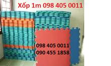 Thảm xốp 1m chuyên cho phòng tập giá rẻ