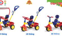 Xe đạp 3 bánh trẻ em Little - Tikes LT - 627354 màu đỏ vàng