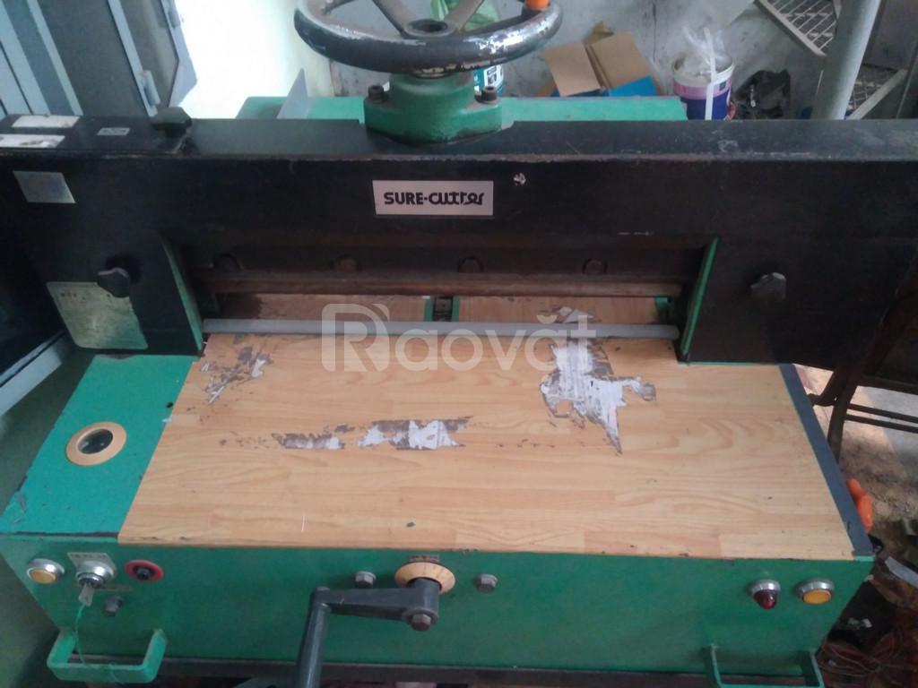 Thanh lý máy móc ngành in máy cắt, máy in nhật