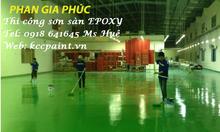 Mua sơn sàn Epoxy cho nền nhà xưởng, nền bê tông ngoài trời giá rẻ