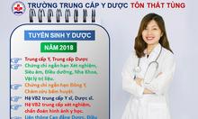 Các hệ đào tạo năm 2018 Trường Y dược Tôn Thất Tùng