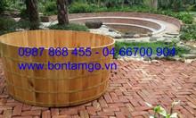 Cung cấp bồn tắm gỗ cho gia đình