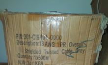 Thừa một số cuộn cáp tín hiệu 18 AWG và 22 AWG bán thanh lý
