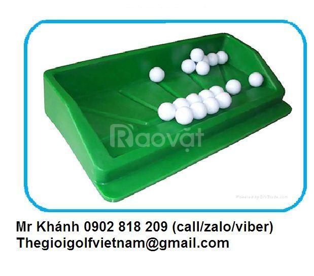 Khay đựng bóng golf bằng nhựa, khay chứa banh golf, khay golf nhựa