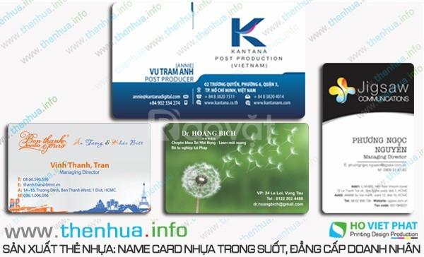 In thẻ treo phòng khách sạn, chất liệu nhựa pvc, giá cả hợp lý