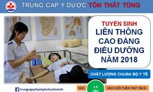 Đào tạo liên thông Cao đẳng Điều dưỡng tại TPHCM năm 2018