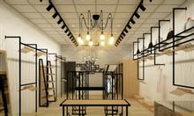Thiết kế, thi công nội thất cửa hàng giá rẻ tại Hà Nội