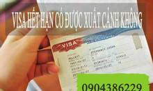Mức xử phạt quá hạn visa như thế nào?