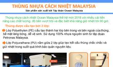 Thùng nhựa cách nhiệt Malaysia thế hệ mới bền & giữ nhiệt