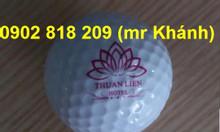In logo lên bóng golf (banh golf) làm quà tặng